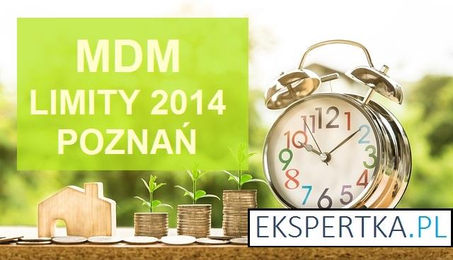 MDM limity cenowe 2014 Poznań