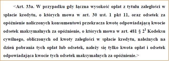 Ustawa z dnia 12 maja 2011 o kredycie konsumenckim