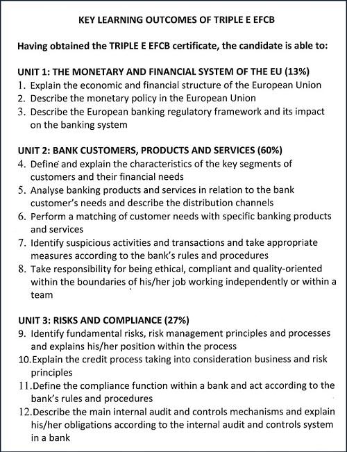 Europejski Certyfikat Bankowca Bożena Myszczyszyn str2